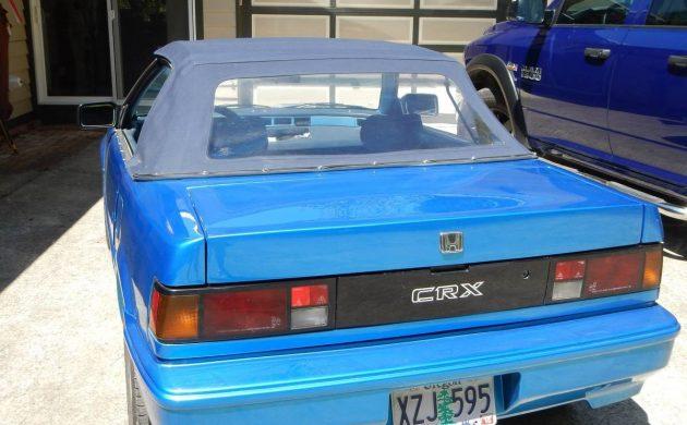 Straman Coach Conversion: 1987 Honda CRX