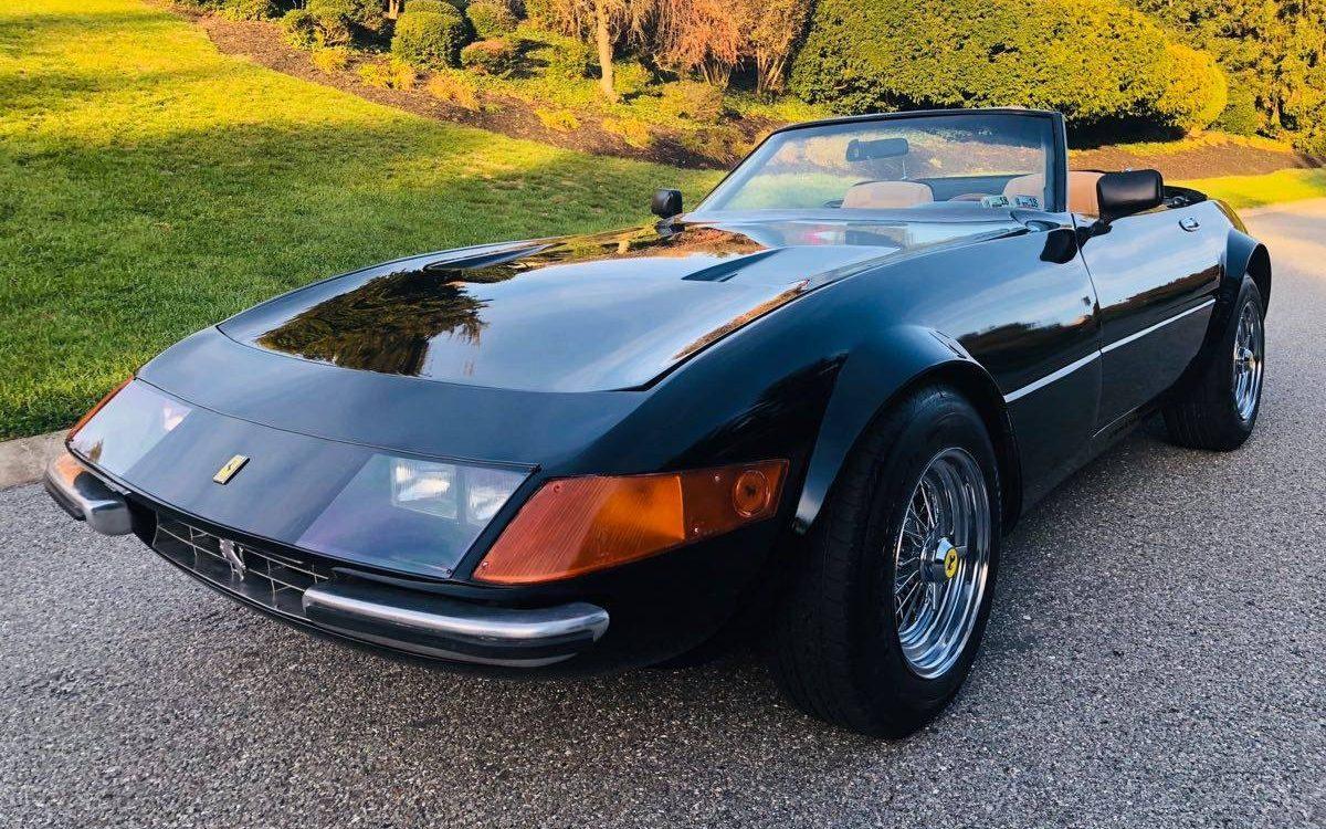 Miami Vice Tribute Ferrari Daytona Spyder Replica Barn Finds