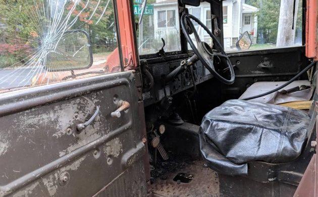 Fire Victim: 1953 Dodge M37