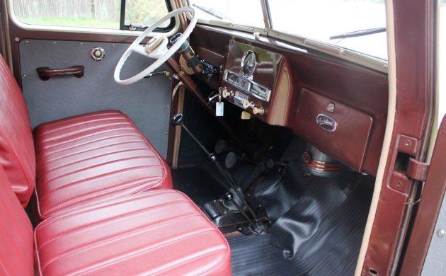 Restored 1951 Willys Station Wagon