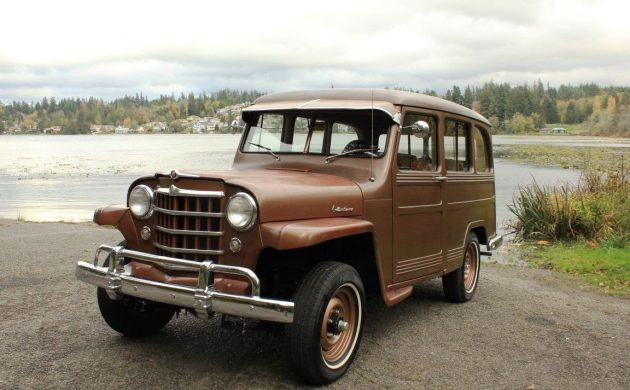 Restored 1951 Willys Station Wagon