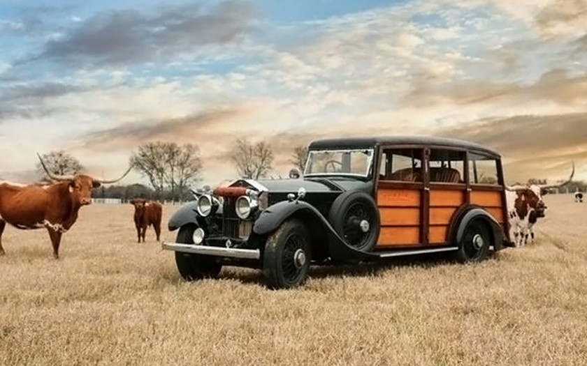 1926 Rolls-Royce Phantom Shooting Brake Ranch Wagon