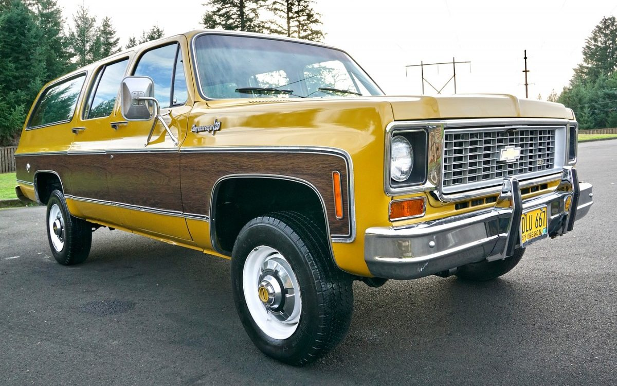 One Owner 1973 Chevrolet Suburban Super Cheyenne
