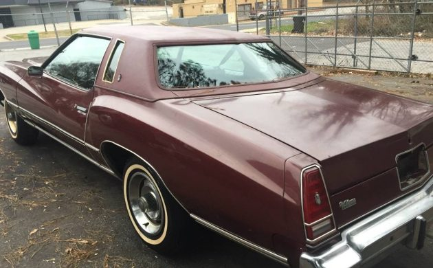 Only 29K Miles: 1976 Chevrolet Monte Carlo
