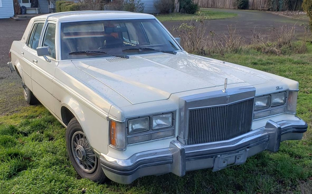 74k miles daily driver  1979 lincoln versailles