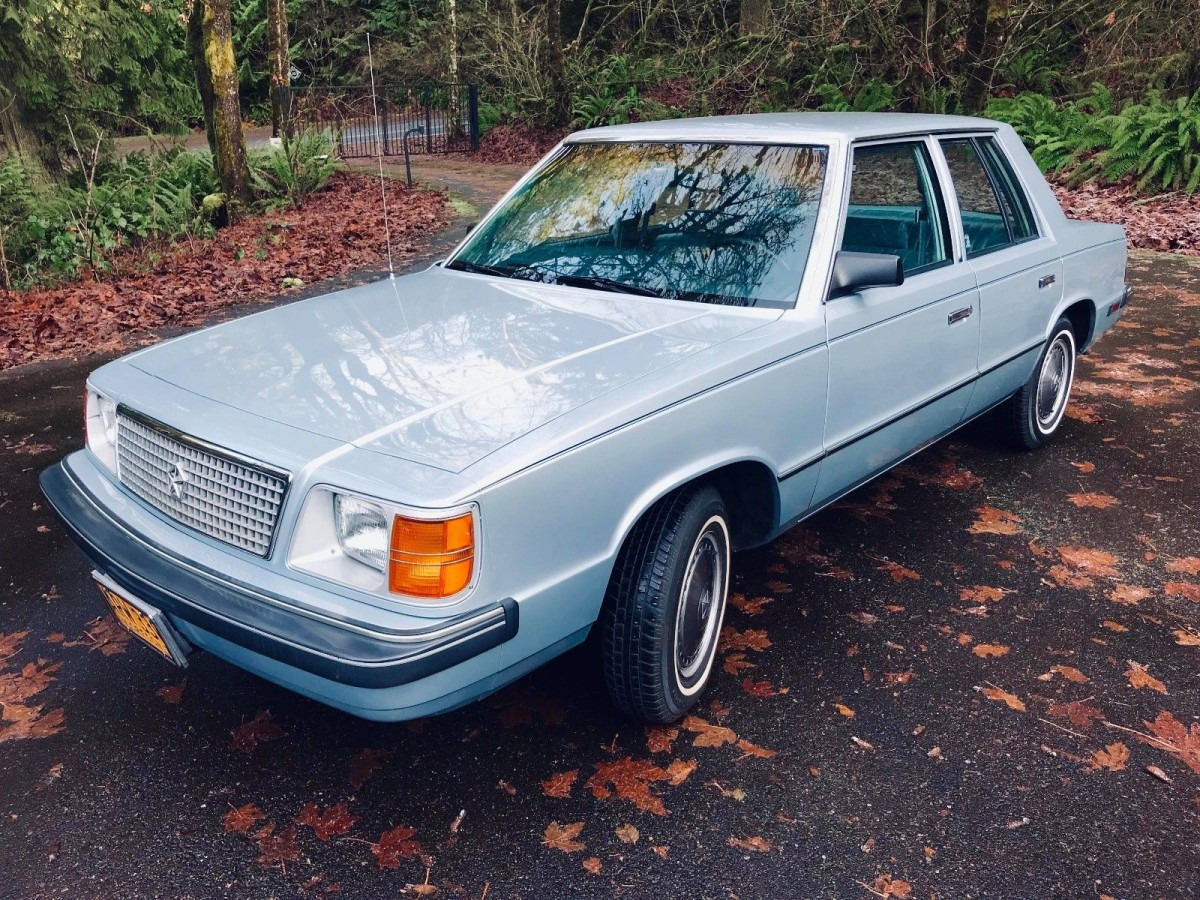 Save Ferris  Save This Car  1985 Plymouth Reliant