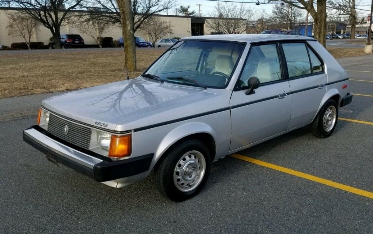 Elegant Econobox 1988 Dodge Omni