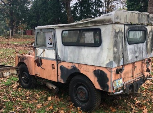 ROI Potential: 1956 Land Rover Series I