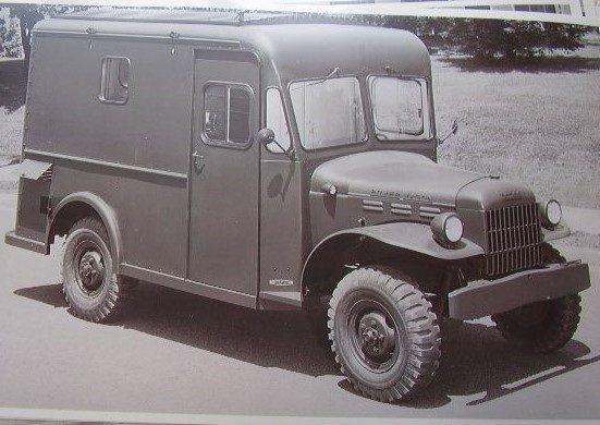 1948 Dodge Power Wagon School Bus