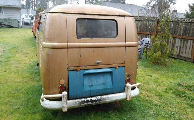 Fine Double Door Panel 1959 Vw Bus Evergreenethics Interior Chair Design Evergreenethicsorg