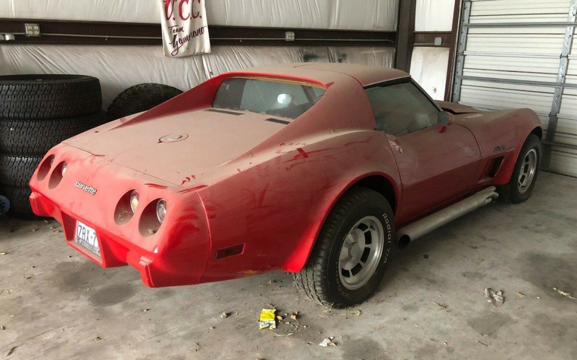 Corvette For Sale >> Stored for 10 Years: 1975 Chevrolet Corvette Stingray