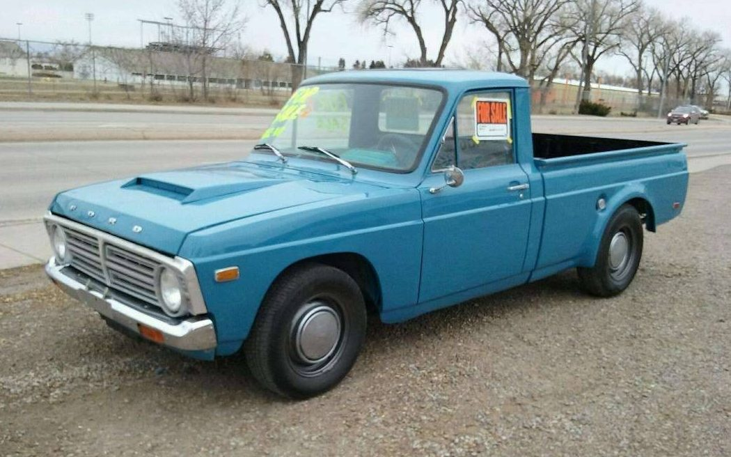 swap  ford courier pickup
