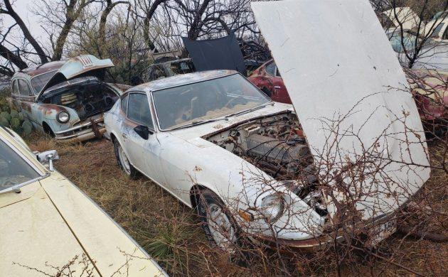 Junkyard Rescue 1971 Datsun 240z