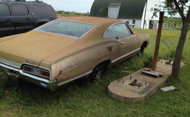 Where's the Keys? 1967 Chevrolet Impala