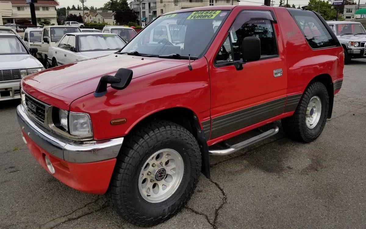 Turbo Diesel Trucks >> Mysterious Utility: 1992 Isuzu MU