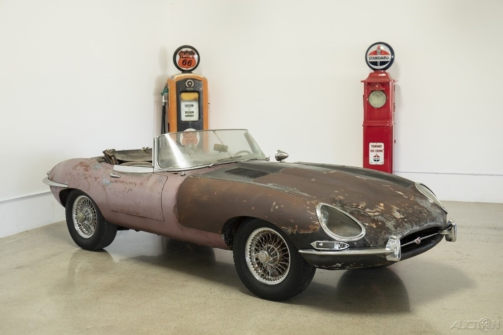 Jaguar E Type For Sale >> Ready to Restore: 1964 Jaguar E-Type