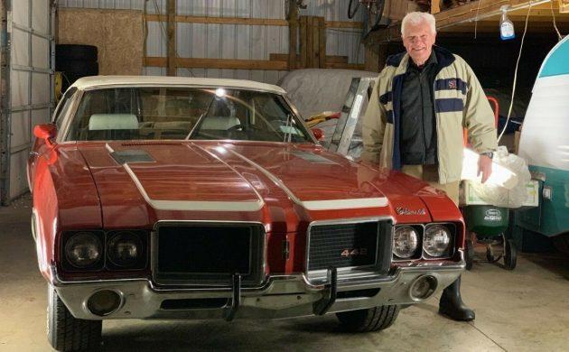 Family Gem: 1972 Oldsmobile 442 Convertible