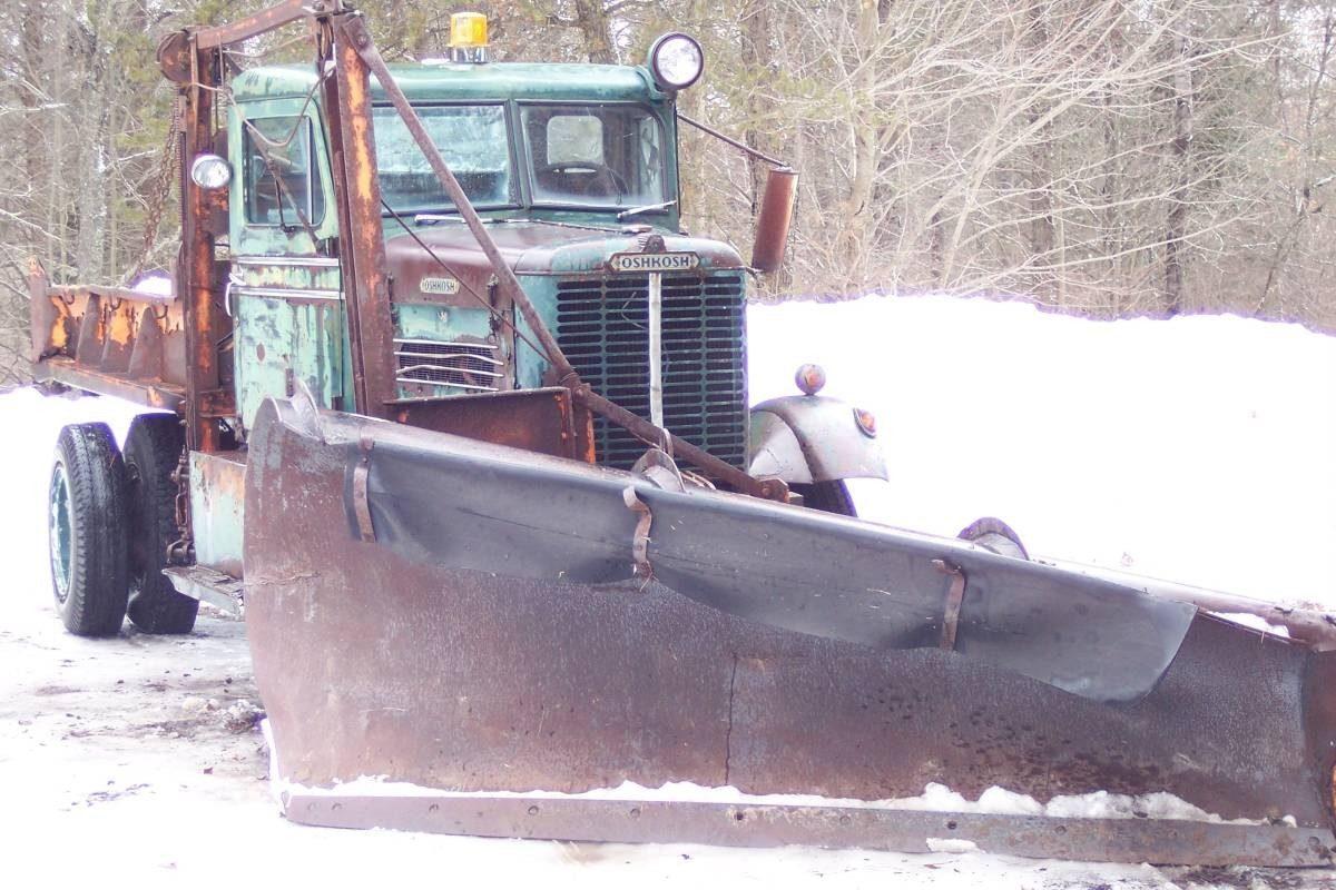 Winter Workhorse 1956 Oshkosh Plow Truck