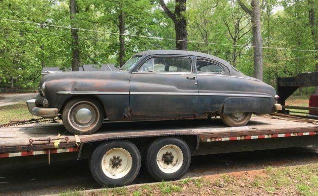 Original 1950 Mercury Coupe