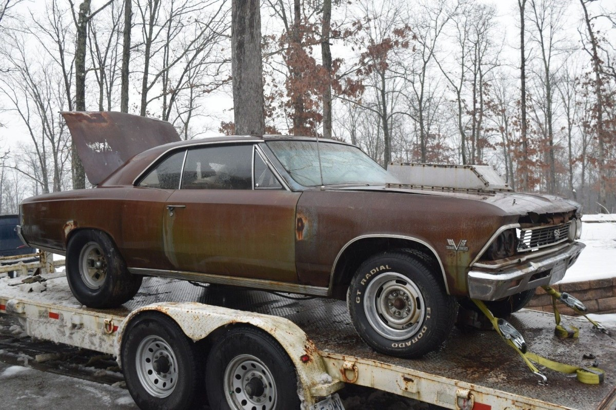 1966 Chevrolet Chevelle SS396 4-Speed Project!