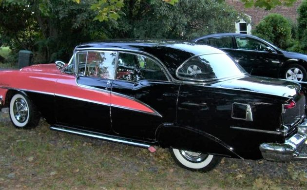 Lead Sled: 1955 Olds Holiday 88