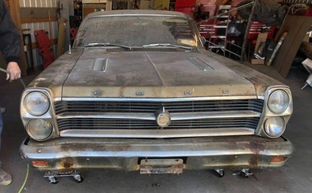 Bill Of Sale Virginia >> Barn Find Fairlane: 1966 Ford Fairlane GTA