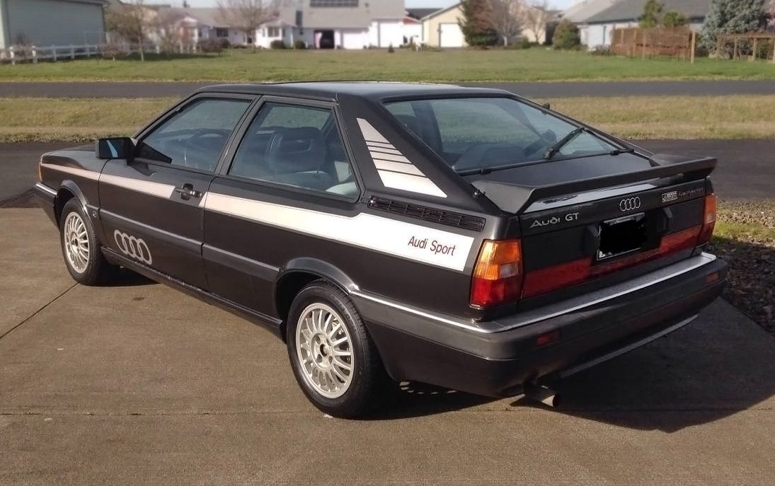 How Much Is My Car Worth >> Cheap Canyon Carver: 1985 Audi Coupe GT