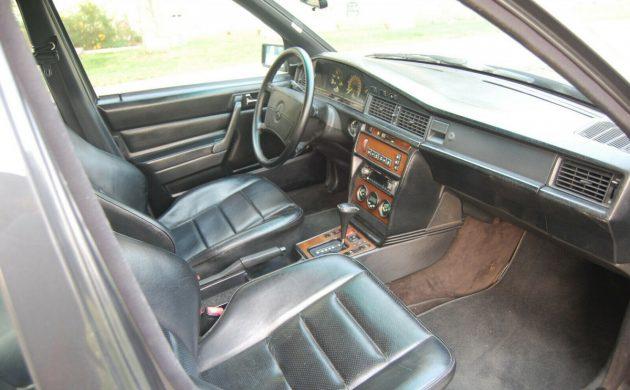 Missing Something: 1986 Mercedes 190E 2 3-16