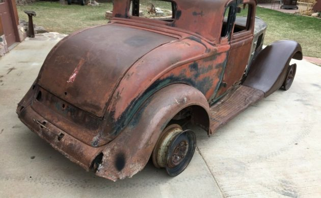 Franken-Plymouth: 1934 Plymouth PE Deluxe Coupe