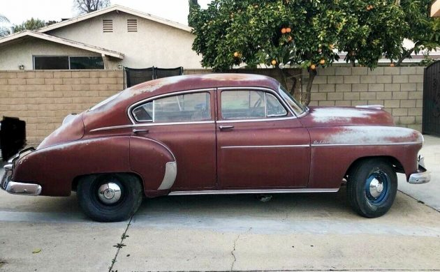 Heavy Patina: 1949 Chevrolet Fleetline Sedan