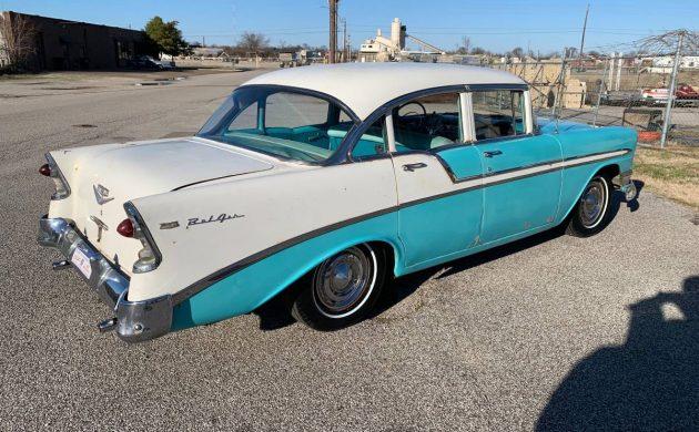 All Original: 1956 Chevrolet Bel Air - Barn Finds