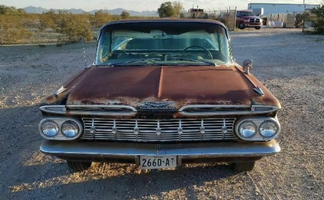 Parked For 35 Years: 1959 Chevrolet El Camino