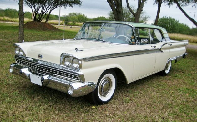 READER AD: 8k Mile 1959 Ford Fairlane 500 Galaxie