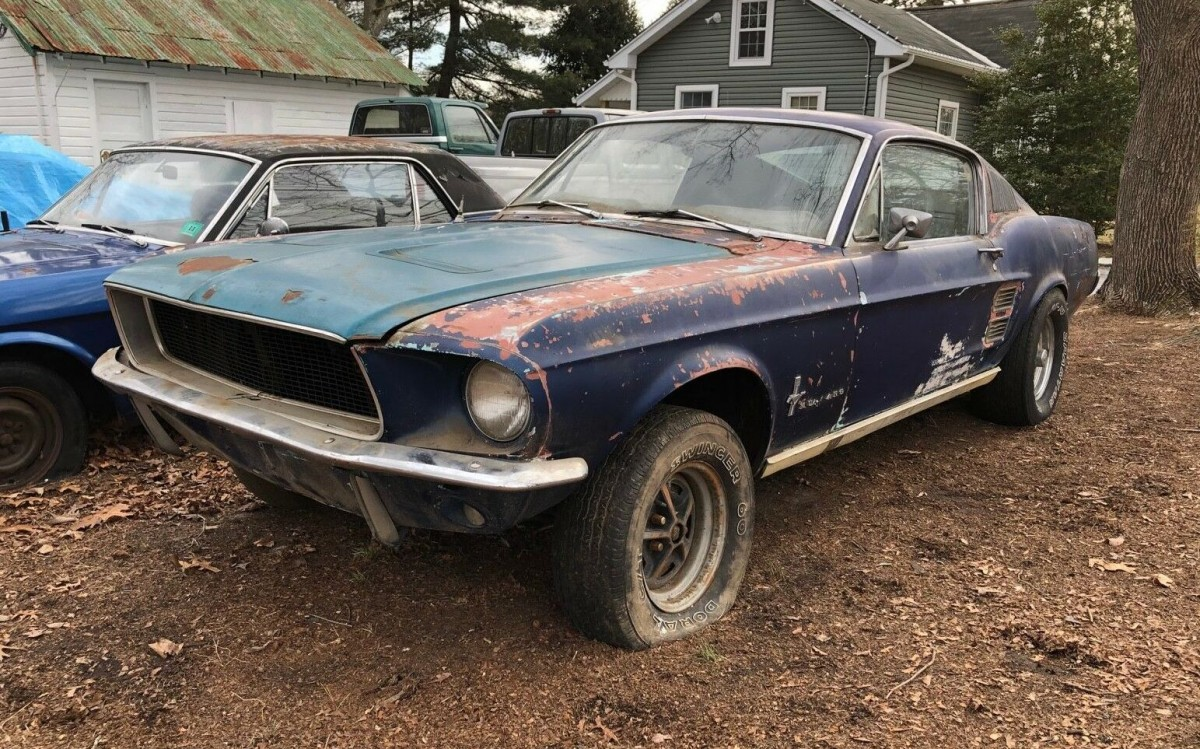 67 Mustang Fastback Project Car For Sale >> One Year Only Color: 1967 Mustang Fastback