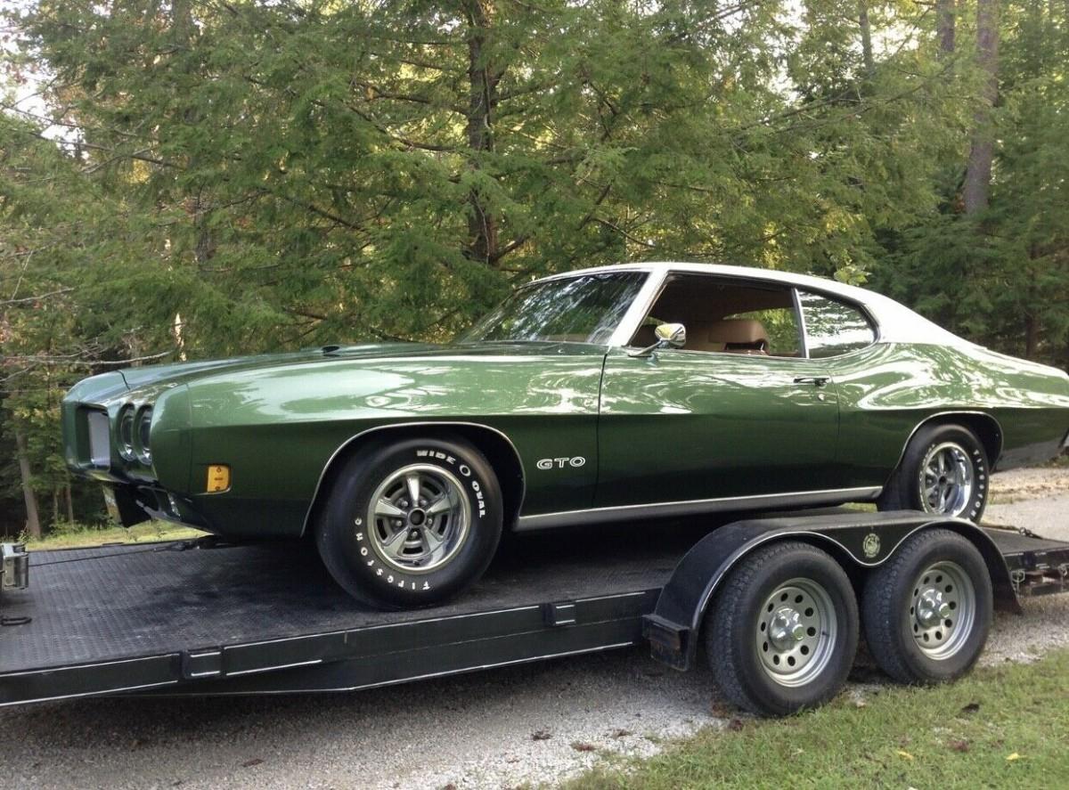 Restored At 37,000 Miles: 1970 Pontiac GTO