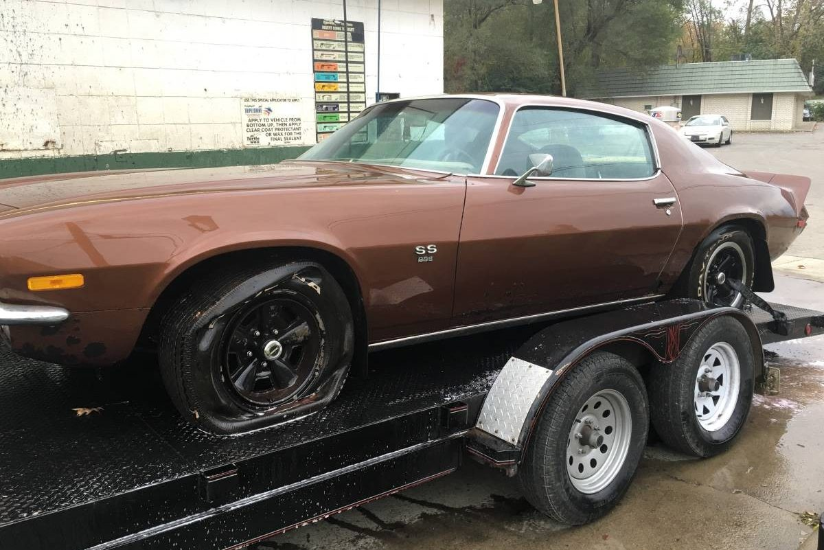 Big Block Find 1970 Camaro Ss 396 4 Speed