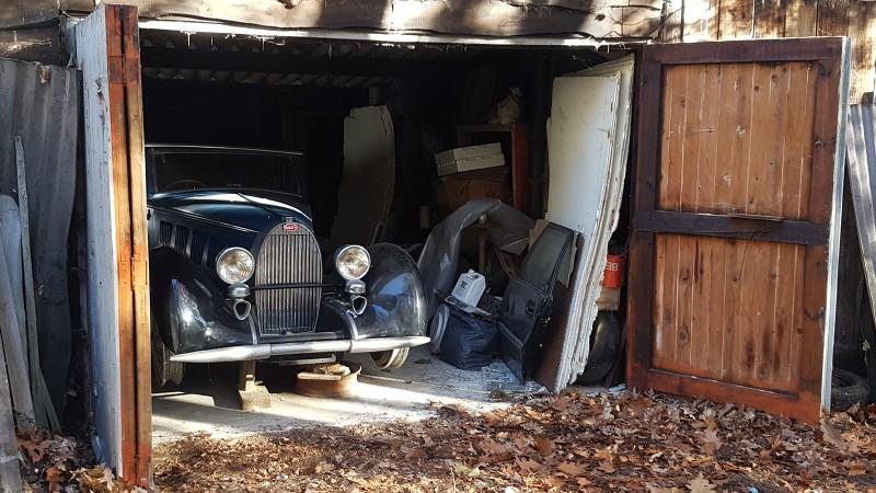 Amazing Triple Bugatti Barn Find