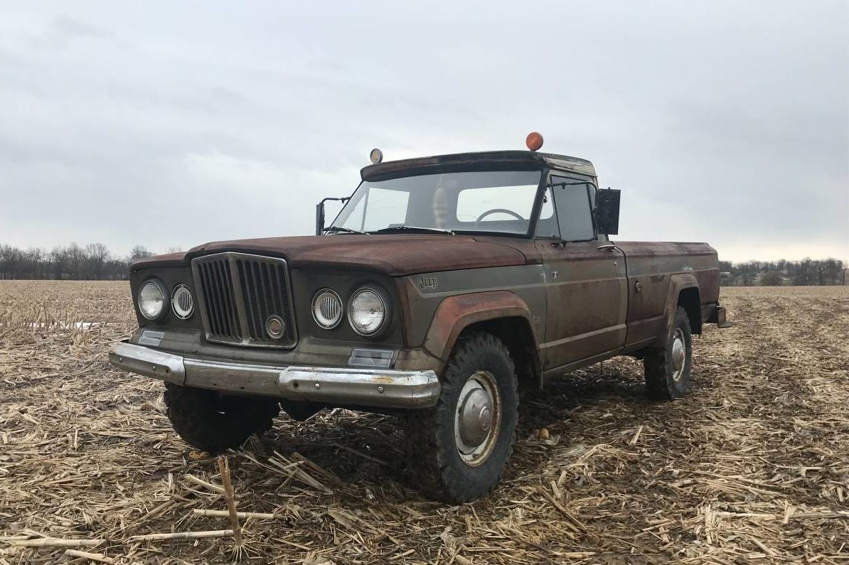 Tyler Car And Truck >> Farm Hand: 1966 Jeep Gladiator J300 4x4