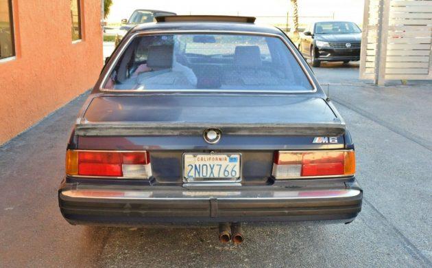 Good Bones 1987 Bmw M6