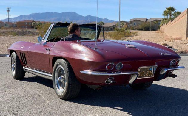 69k Original Miles: 1965 Chevrolet Corvette Convertible