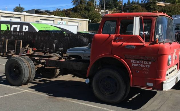 Former Fuel Truck  1969 Ford C700 Coe