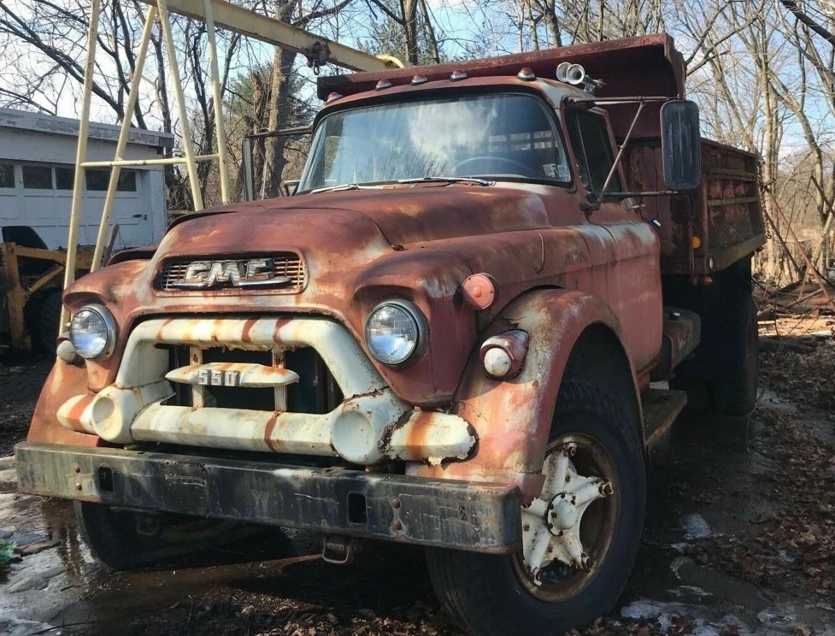 Bulldog Barn Find: 1957 GMC Dump Truck