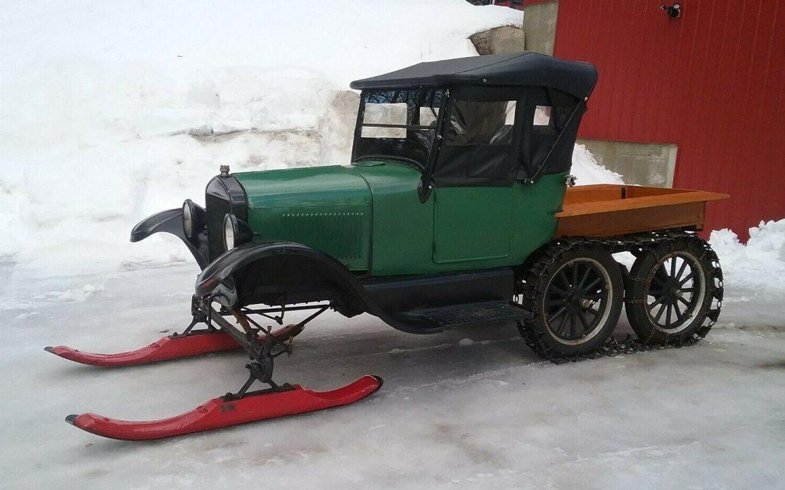 Makin Tracks 1926 Ford Model T Snowmobile