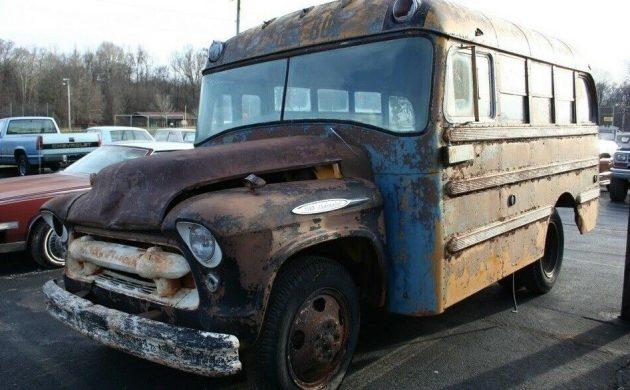S Cool Bus 1957 Chevrolet 4100