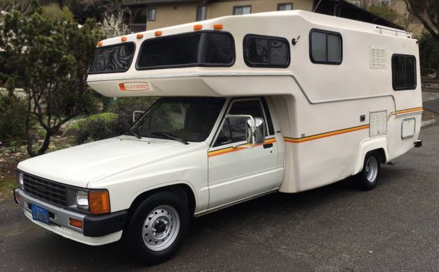 50k Mile Micro-Mini RV: 1985 Toyota Sunrader