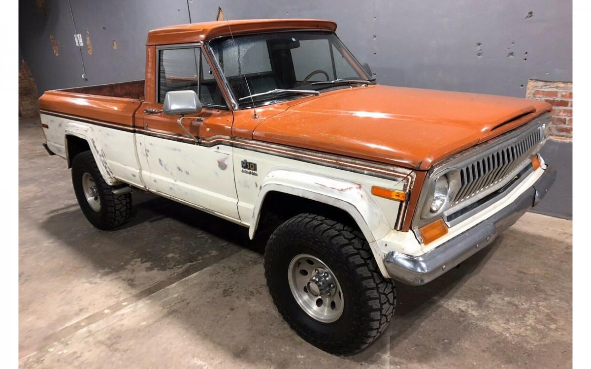 Original Paint Pickup  1977 Jeep J