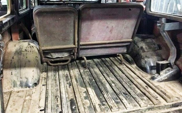 Parts Truck Included: 1947 Willys Wagon
