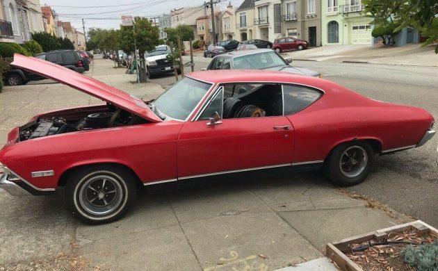 Big Block 4-Speed: 1968 Chevrolet Chevelle SS 396