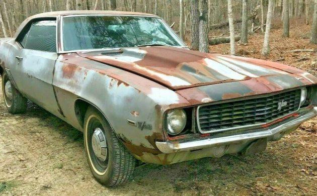 Storage Unit Find: 1969 Chevrolet Camaro SS 396