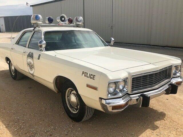 Police Cars For Sale >> Big Block Cruiser: 1973 Dodge Polara Police Car